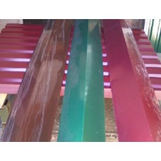 Конек широкий, Цветной длина 2м,  ширина 0.2м