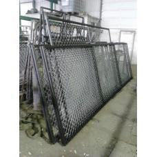 Секция Заборная в сетке рабица, длина 3 м, высота 1.5м.