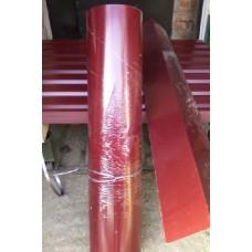Гладкий лист, цветной длина 2 м, ширина 1.25м, в защитной пленке.